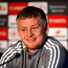 Manchester United manager Ole Gunnar Solskjaer. Photo: Tim Goode/PA Wire