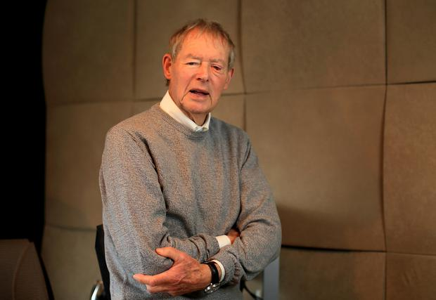 Voice of GAA: Mícheál Ó Muircheartaigh wants to encourage Irish people to make a charity gift in their wills. Photo: Frank McGrath