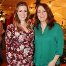 Elaine Crowley and Ruth Scott at the Aldi Christmas Showcase at Medley on Dublin's Fleet Street. Picture: Photocall Ireland