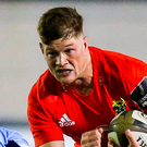 Jack of all trades: Jack O'Donoghue, in action against Cardiff Blues, has proven his worth for Munster. Photo: Sportsfile