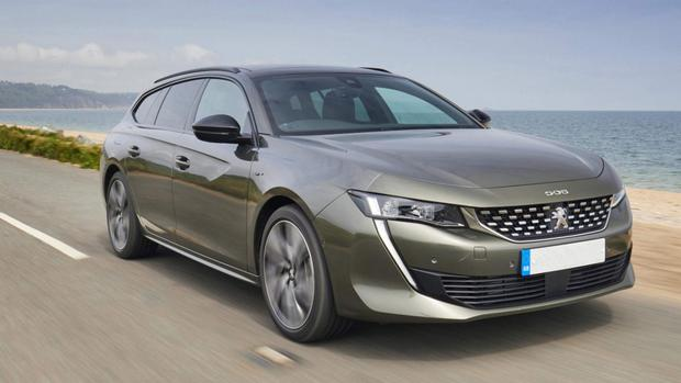Substantial: the new Peugeot 508 SW in GT Line