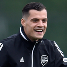 Granit Xhaka. Photo: Reuters