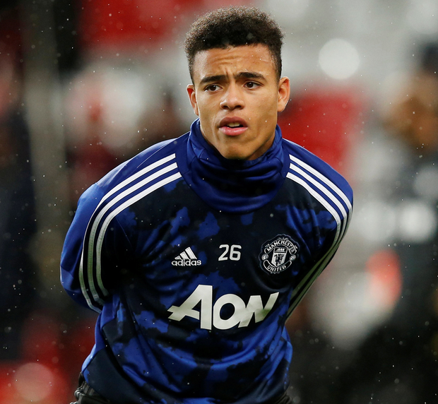 Mason Greenwood is being used sparingly in the United first-team