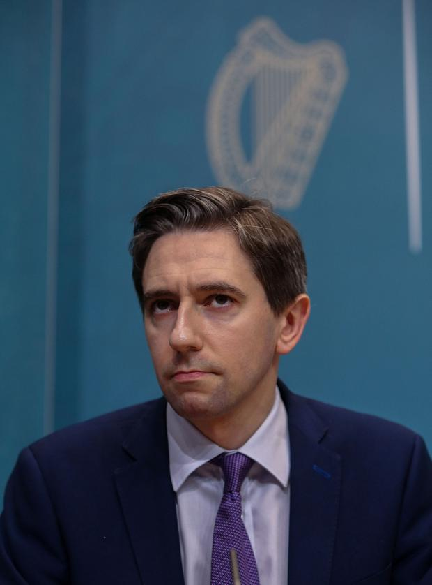 Health Minister Simon Harris. Picture: Collins