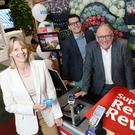 Loyalty: Jenni Mundy, Philip Konopik and Martin Kelleher at the launch.