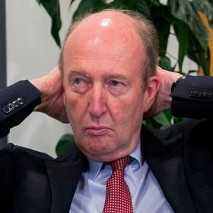 Veto: Shane Ross rejected plans for the NTA to police bus lanes. Photo: Gareth Chaney, Collins