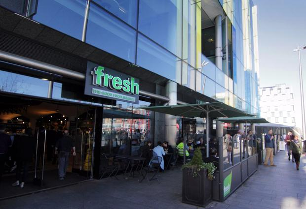 Super: The Fresh 'Good Food Market' in Grand Canal Square