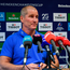 Leinster senior coach Stuart Lancaster during a Leinster Rugby press conference at the team's headquarters in UCD, Dublin. Photo: Ramsey Cardy/Sportsfile