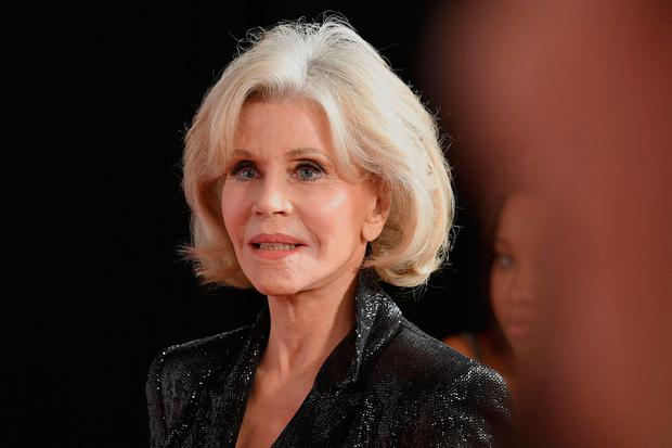 US actress/activist Jane Fonda attends the 2019 Glamour Women Of The Year Awards at Alice Tully Hall, Lincoln Center on November 11, 2019 in New York City. (Photo by Angela Weiss / AFP)