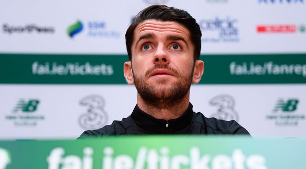 'It kills me when I'm not involved with Ireland' - Robbie Brady aims to make up for lost time against Danes