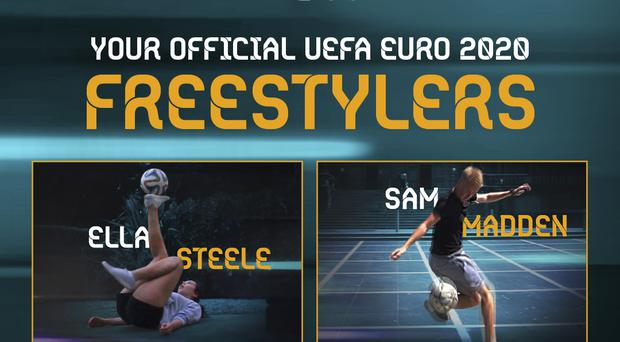 Two Irish representatives selected for Euro 2020 Freestylers squad