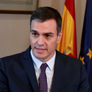 Four-year deal: Acting Prime Minister Pedro Sánchez. Photo: Sergio Perez/Reuters