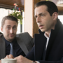 Kieran Culkin and Jeremy Strong play brothers in Succession, the critically acclaimed drama about a billionaire family