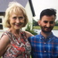 Mildred and Haseeb featured in the first episode of OAP B&B on Virgin Media One
