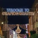 The new 'Welcome to Grafton Quarter' signs on Grafton Street.