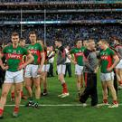 Mayo dejected after defeat to Dublin in 2016