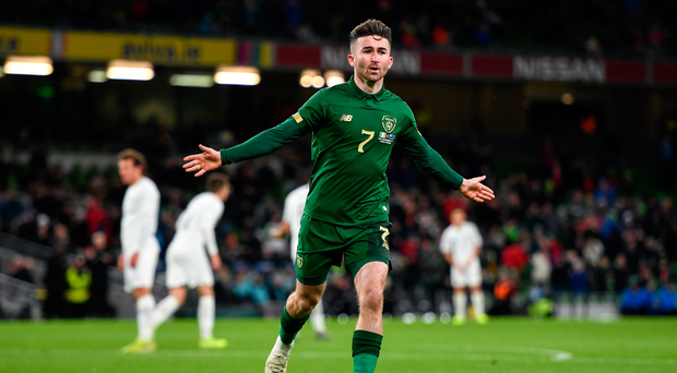 'I'd say notably Seani Maguire played well' - McCarthy hails striker ahead of Denmark showdown