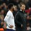 Soccer Football - Euro 2020 Qualifier - Group A - England v Montenegro - Wembley Stadium, London, Britain - November 14, 2019 England manager Gareth Southgate prepares to bring England's Joe Gomez on as a substitute Action Images via Reuters/Carl Recine