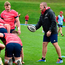 Graham Rowntree issues instructions at Munster training in University Limerick earlier this week. Photo: Sportsfile