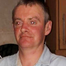Collapsed: Brian Hamilton was found slumped over his backpack in the waiting area at Tallaght Hospital A&E