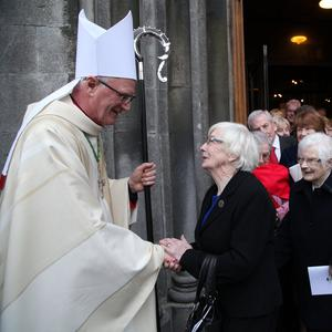 Cut: Bishop of Ossory Dermot Farrell says his diocese has more churches than it needs. Photo: John McElroy