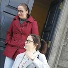 Rebecca O'Shea (left) and Emma Whelan admitted using threatening and abusive behaviour to gardai