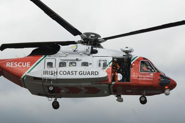 Concerns: The search-and-rescue Coast Guard helicopter service remains in place.