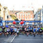 And they're off: The 2019 Dublin Marathon was the biggest ever with 22,500 runners taking part. Photo: Ramsey Cardy/Sportsfile