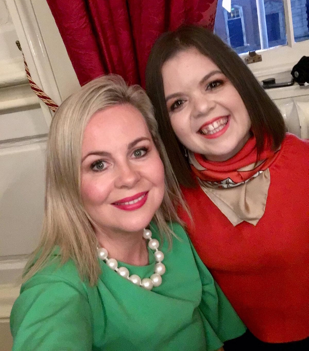 'Ableist': Senator Lorraine Clifford-Lee with writer and activist Sinéad Burke at an event in Dublin Castle