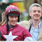 Davy Russell with Michael O'Leary