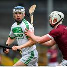 TJ Reid of Ballyhale Shamrocks in action against Aaron Maddock of St Martin's