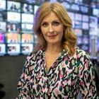 Sky's the limit: Alison Comyn at the Sky News Centre in London. Photo: Jonathan Goldberg