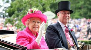 Queen Elizabeth II and Prince Andrew, Duke of York attend Royal Ascot 2017 at Ascot Racecourse on June 22, 2017 in Ascot, England. (Photo by Chris Jackson/Getty Images)