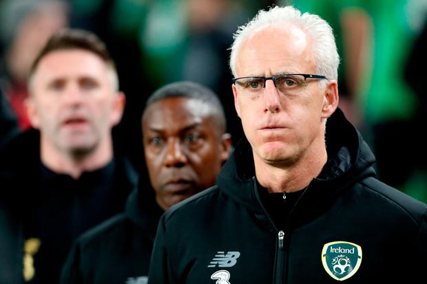Republic of Ireland manager Mick McCarthy. Photo: PA