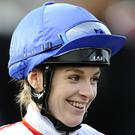 Racheal Kneller had a memorable win at Lingfield today. (Photo by Alan Crowhurst/Getty Images)