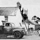 A rural house in Dromiskin, Co Louth is electrified in the late-1940s