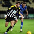 Will Patching, pictured in action for Notts COunty