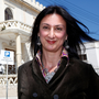 Murdered journalist Daphne Caruana Galizia. Photo: Reuters/Darrin Zammit Lupi