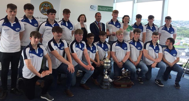 An official reception for Bandon's All-Ireland winning U-18s in Cork's County Hall
