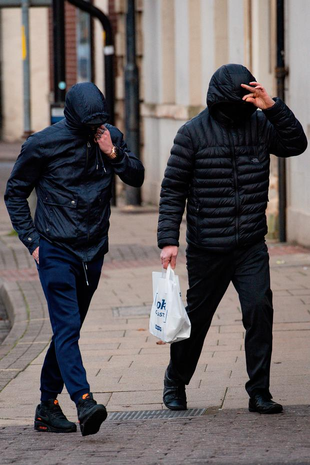 File photo dated 20/11/2019 of Metal detectorists George Powell (left) and Layton Davies who have been convicted at Worcester Crown Court of stealing a £3 million hoard of Viking coins and jewellery, much of which is still missing. Photo: Jacob King/PA Wire