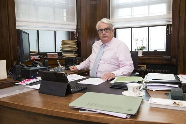 Top judge: Mr Justice Frank Clarke says the judiciary stands ready to play its part in recalibrating personal injury awards. Photo: COLIN O'RIORDAN