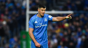 Johnny Sexton starts for Leinster against Lyon. Photo by Sam Barnes/Sportsfile