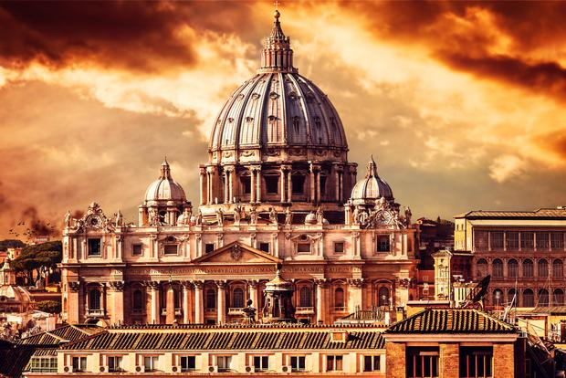 The Vatican. Stock image. Deposit Photos