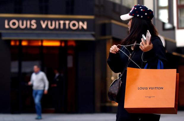 A Louis Vuitton spokeswoman declined to comment (stock photo)