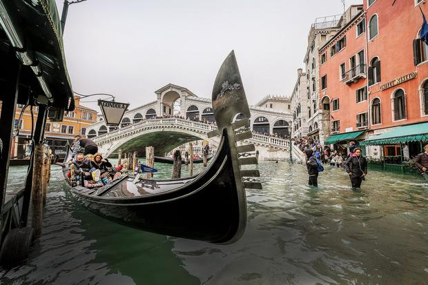 Venice is well used to acqua alta. The sirens go off, the boots and waders go on, as does life among the islands and neighbourhoods, locals and tourists alike picking their way along the passerelle or wooden walkways. But year on year, Venetians and Italians generally are noting the changes