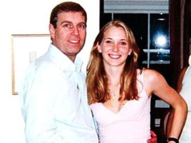 Prince Andrew and Virginia Roberts in 2001
