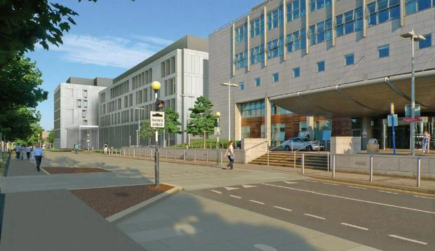 Vision: An artist's impression of how the new National Maternity Hospital will look