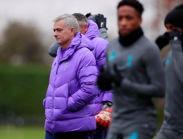 Changing lanes: Jose Mourinho has tarnished his legacy at Chelsea by admitting he used to be jealous of the support Spurs received. Photo: Action Images via Reuters/Andrew Couldridge