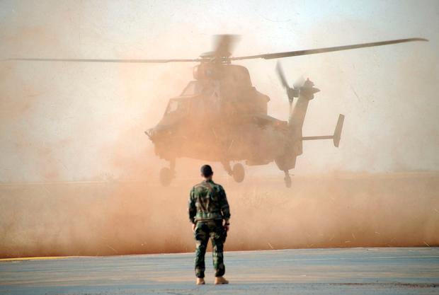 French soldiers killed as two helicopters collide in mid-air