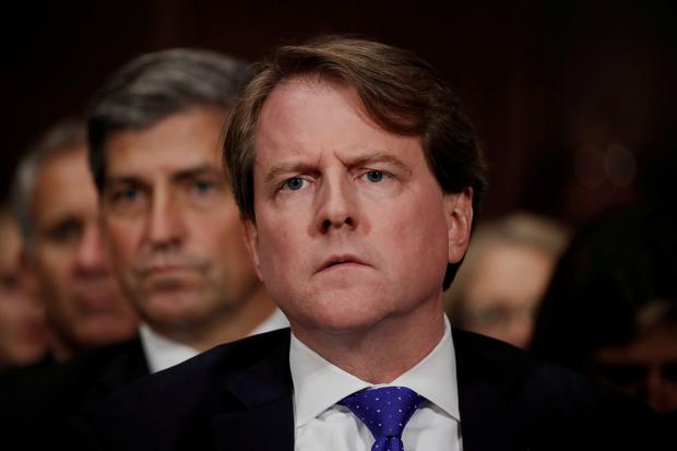 U.S.  court says former White House counsel must comply with impeachment subpoena